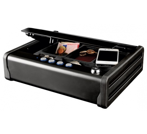 Sejf kompaktowy MLD08E na biżuterię, dokumenty i elektronikę MasterLock