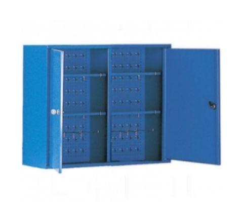 Szafa narzędziowa SZW 080 wisząca do warsztatu z półkami uchwyty