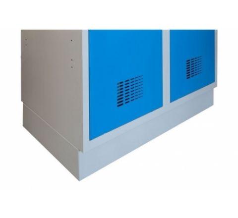 Cokół metalowy C420 W chroniący szafę przed korozją