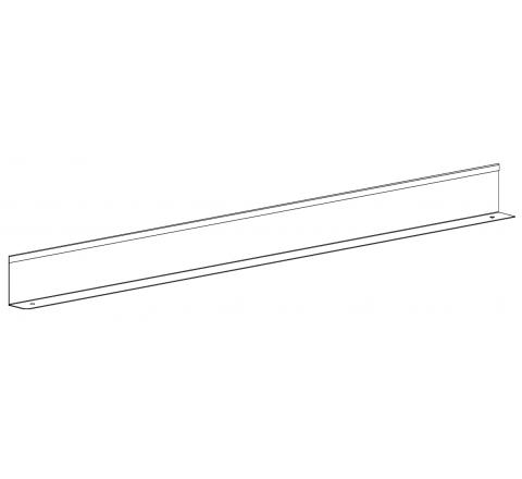 Ogranicznik środkowy na regał RMM szer.1200mm MALOW OSRmm1200