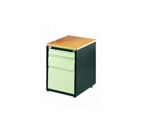 Kontener szafa pod biurko SZP 403 4 szuflady H 620 mm klucz