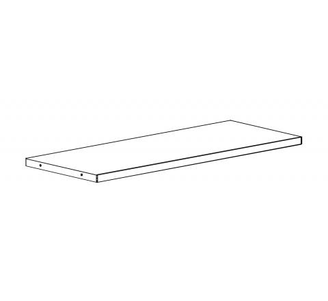 Metalowa półka 60 kg do szaf biurowych Sbm m 1000 mm Malow