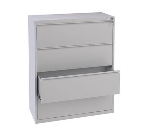 Metalowa szafa kartotekowa szuflady na zawieszane A4 1000mm SKB310