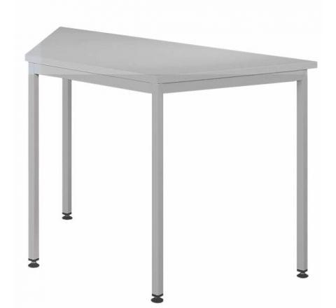 Trapezowe biurko stół biurowy STB201ST 1200x600mm MALOW