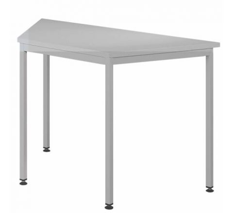 Trapezowe biurko stół biurowy STB202ST 1600x800mm