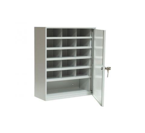 Szafka na dokumenty SP 16/S ze szklanymi drzwiami