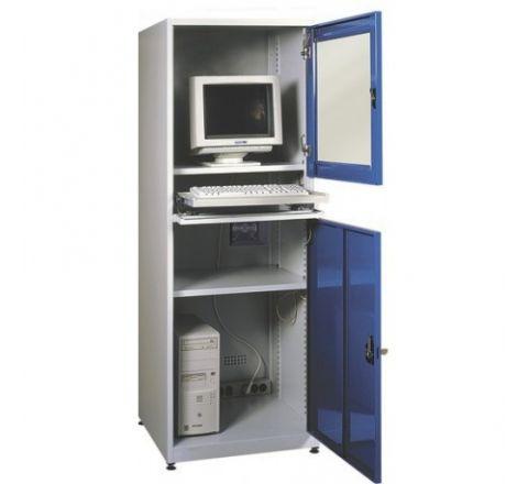 Metalowa ochronna szafka do komputera przemyslowego SMK1
