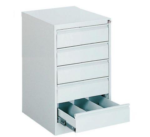 Metalowa szafka na dokumenty SZK 319 - 5 szuflad trzyrzędowa