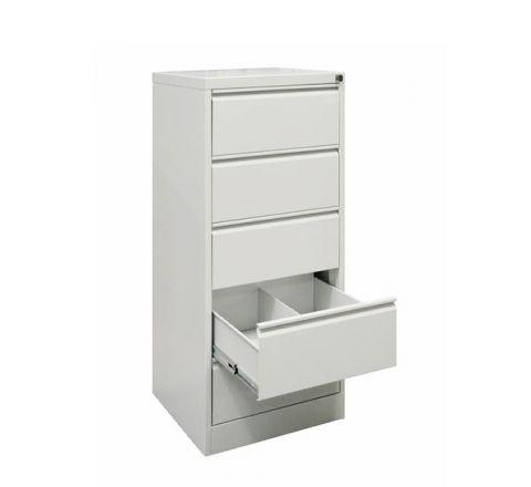 Metalowa szafka na dokumenty SZK 320 5 szuflad 2 rzędy kartotek