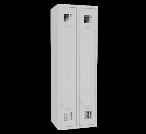 Szafa metalowa dla pracowników drzwi typu L SUL32Wst