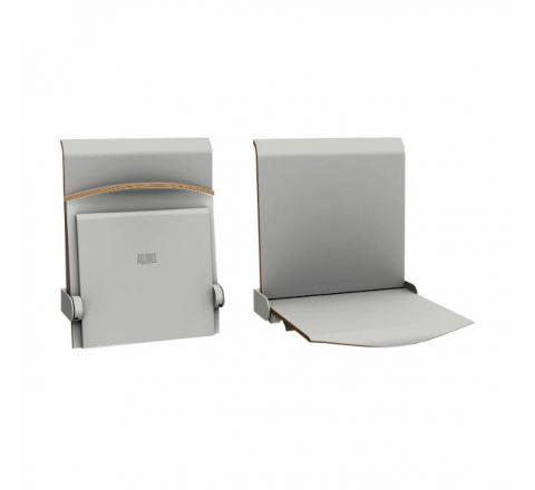 Siedzisko naścienne składane manualne STRAPONTEN TPS1 Twist Plus AllHall szary