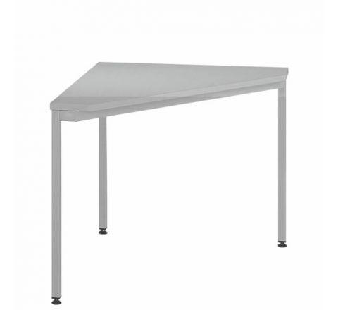 Trójkątne biurko stół biurowy STB203ST MALOW 800x800mm