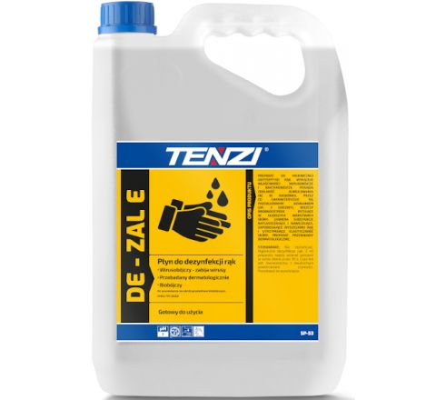 Płyn TENZI odkażający antybakteryjny do dezynfekcji rąk z pompką DE-ZAL 5L