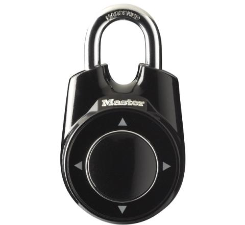 Kłódka Master Lock ONE na kombinacje ruchów 1500IEURDBLK czarna
