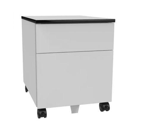Kontener szafa pod biurko SZP 520 na kółkach 2 szuflady na klucz