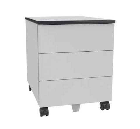 Kontener szafa pod biurko SZP 530 na kółkach 3 szuflady na klucz