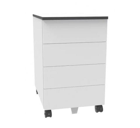 Kontener szafa pod biurko SZP 640 na kółkach 4 szuflady H 66cm