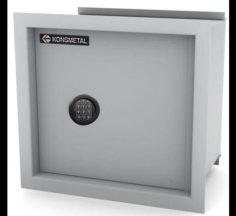 Sejf Ścienny z zamkiem elektronicznym Ksn 35/S1 Konsmetal Klasa S1