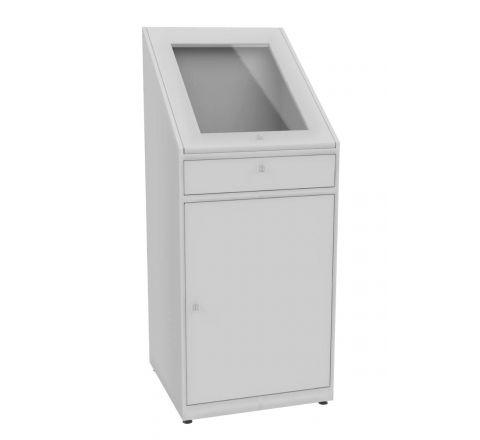 Metalowa ochronna szafka do komputera przemyslowego SMK3a z instalacją