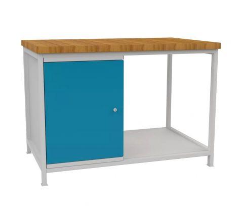 Stół warsztatowy Szerokość 120cm STW401 blat roboczy i 4 szuflady