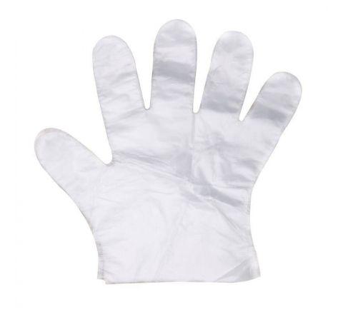 Rękawice foliowe jednorazowe