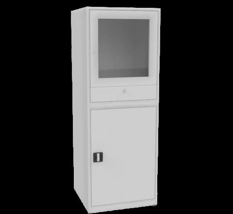 Metalowa ochronna szafka do komputera przemyslowego SMKA