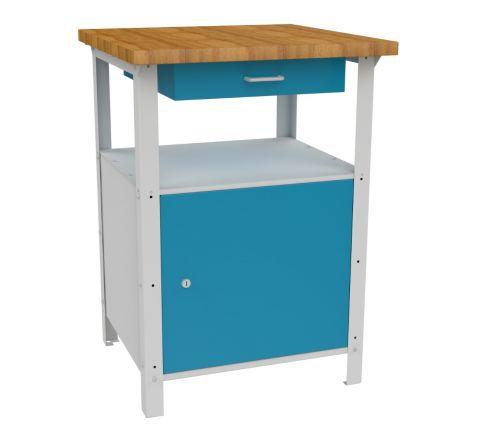 Metalowy stół warsztatowy roboczy  STW111 600mm MALOW