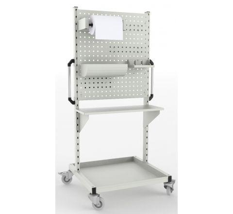 Wózek do dezynfekcji - mobilna stacja dezynfekująca
