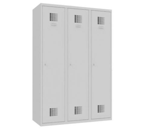 Sum 430 W st Szafa BHP ubraniowa 3-drzwiowa - 6 komór, 120 cm