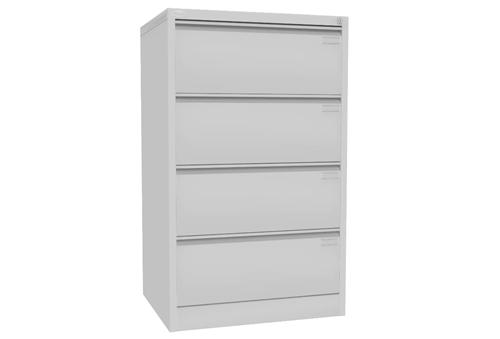 Meble metalowe i szafy kartotekowe - aranżacja dokumentów w firmie